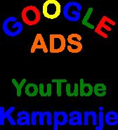 internet stranica google ads kampanje šarena slova