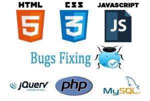 softver i izrada aplikacija ikone i tekst u raznim bojama